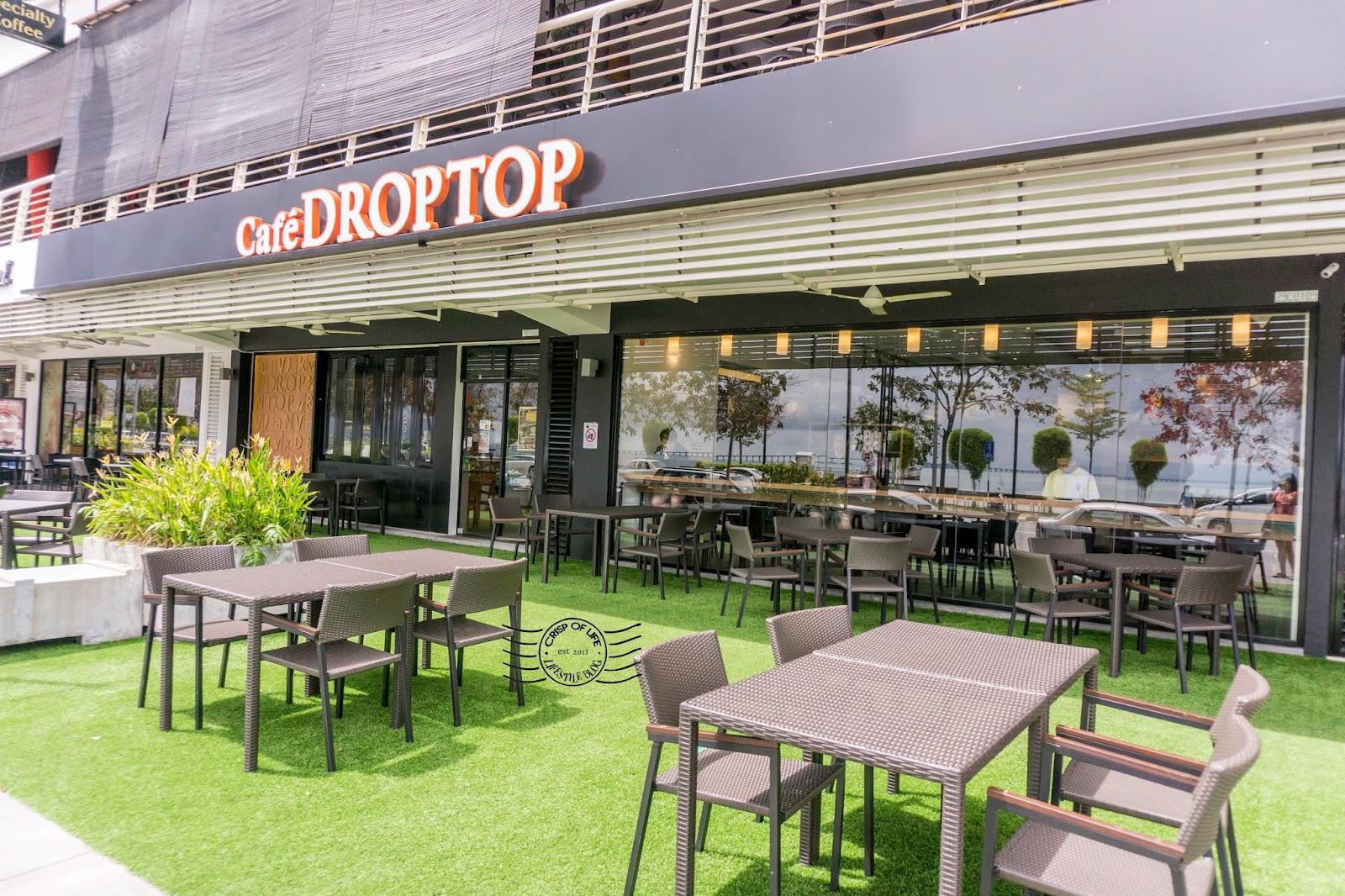 Coffee and Bingsu at Cafe Droptop, Maritime Piazza, Sungai Pinang, Penang