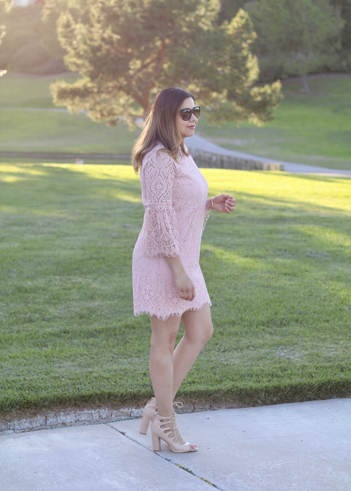 what to wear to a spring wedding, jcpenney blush trend
