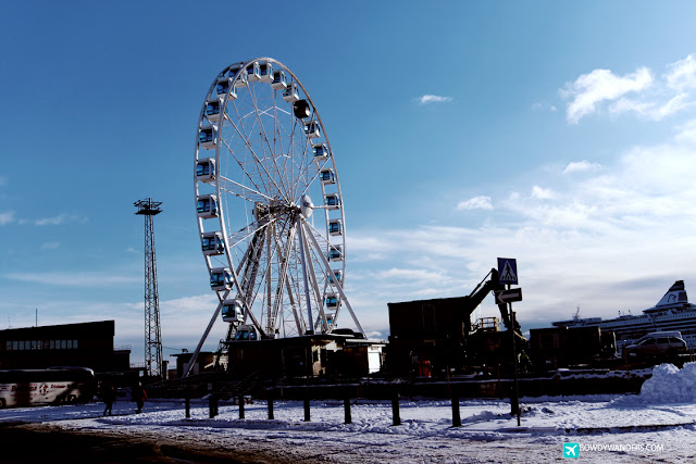 bowdywanders.com Singapore Travel Blog Philippines Photo :: Finland :: SkyWheel Helsinki: Extend Your Port Visit in Helsinki with This Extra Perk