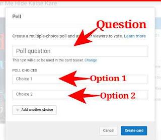 Youtube Me Poll Create Kaise Kare 7