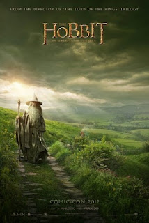 THE HOBBIT: AN UNEXPECTED JOURNEY 2012 MOVIE POSTER