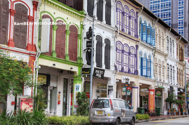 Shophouses in Transitional Style, Tanjong Pagar Road, Singapore