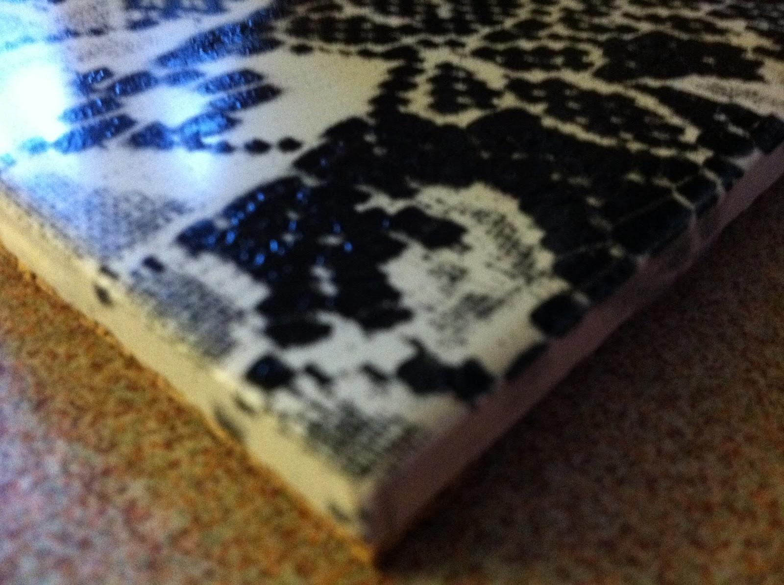 Sister See Sister Do Diy Lace Ceramic Tile Trivet