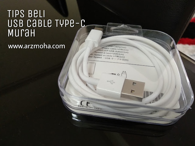 usb cable type c murah, usb type c, tips beli usb cable type c murah, cara beli usb cable type c murah, apa kegunaan usb cable type-c, mi A1 guna usb cable type c,