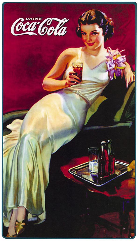 pin up girl cocacola poster coke ad pinup vintage ads vintage advertising vintage coca cola. Black Bedroom Furniture Sets. Home Design Ideas