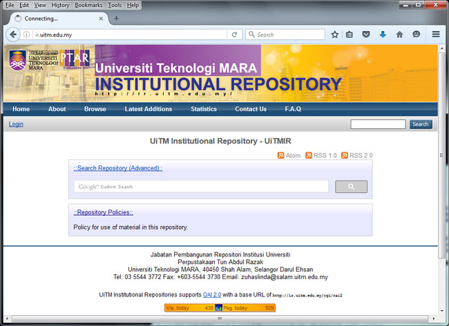 http://ir.uitm.edu.my/