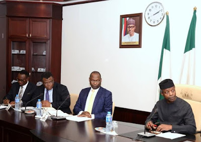 President Buhari lead Administration is prepared to  provide  3 million jobs in the next 3 years- Osibanjo