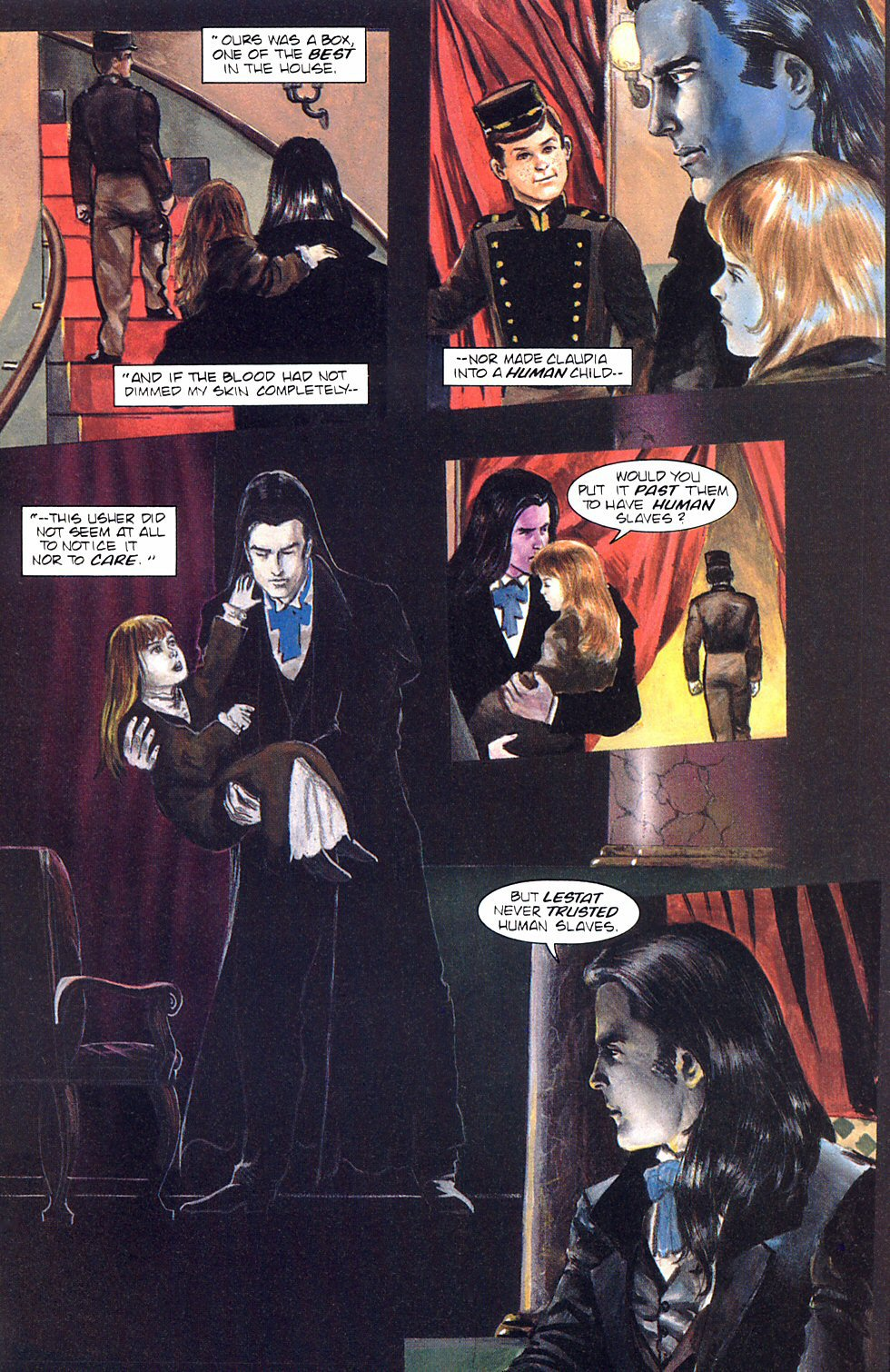 Read online Anne Rice's Interview with the Vampire comic -  Issue #8 - 6