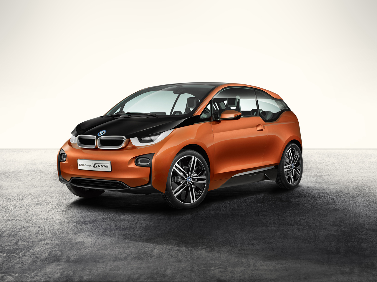 bmw i3 concept coupe revealed video electric vehicle news. Black Bedroom Furniture Sets. Home Design Ideas