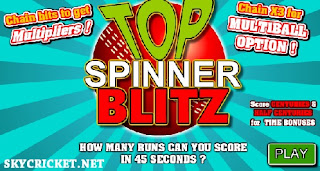 Play Top Spinner Blitz Online Game