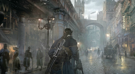 Out Game Break!: The Order: 1886 Gameplay Screenshots!