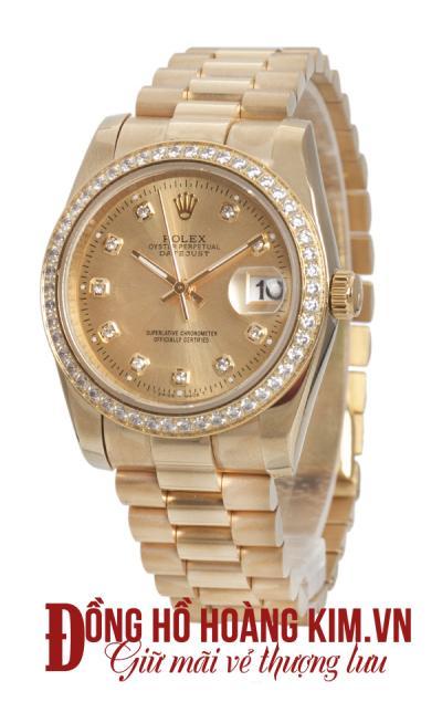 Mẫu đồng hồ mạ vàng thời trang