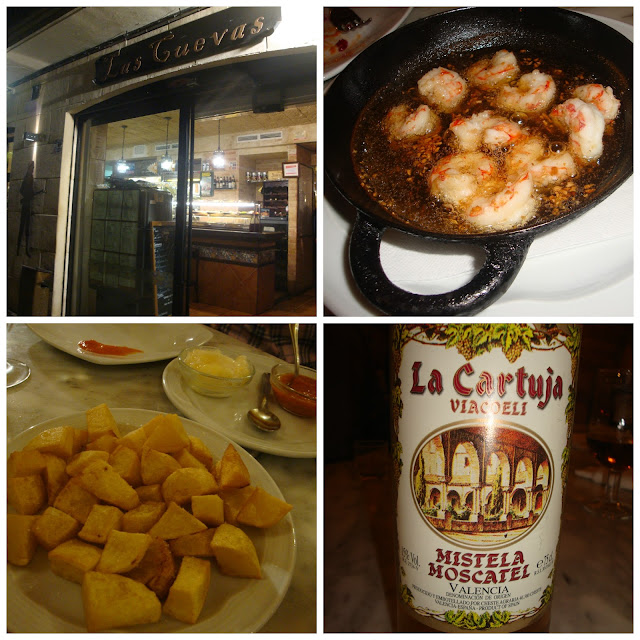 Onde comer tapas em Valência - Las Cuevas