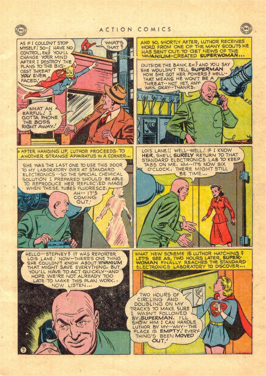 Action Comics (1938) 156 Page 9