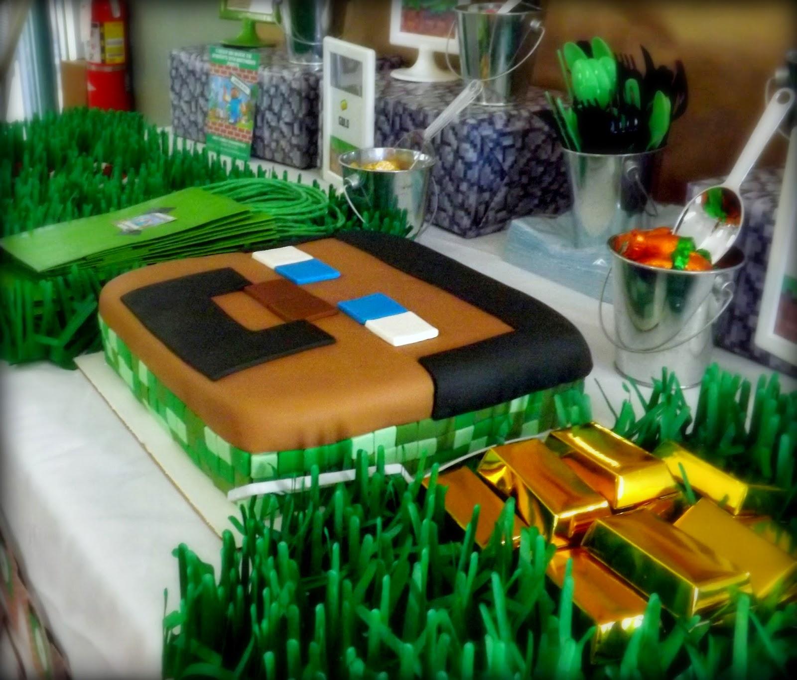 A Stylish Affair By Jessie: Minecraft Inspired Party