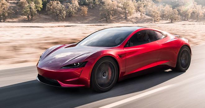Tesla 2020 Roadster front