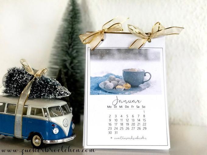 DIY | kostenlose Kalender für 2017 zum ausdrucken