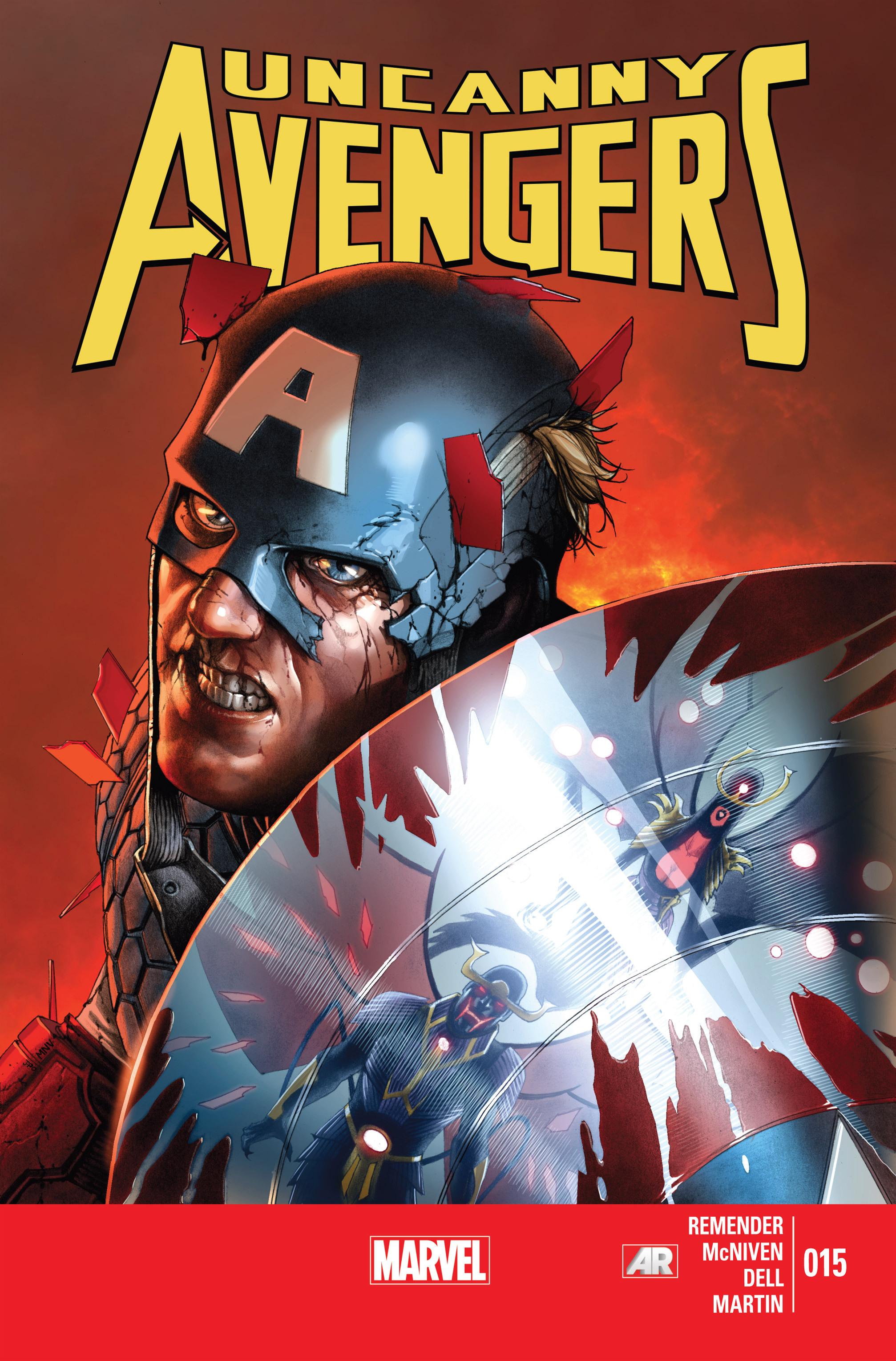 Read online Uncanny Avengers (2012) comic -  Issue #15 - 1