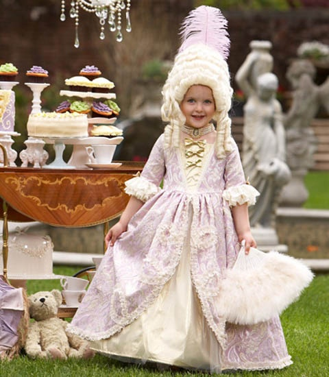 Disfraz niña maria antonieta