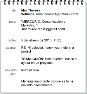 OTRO email MÁS QUE SOSPECHOSO