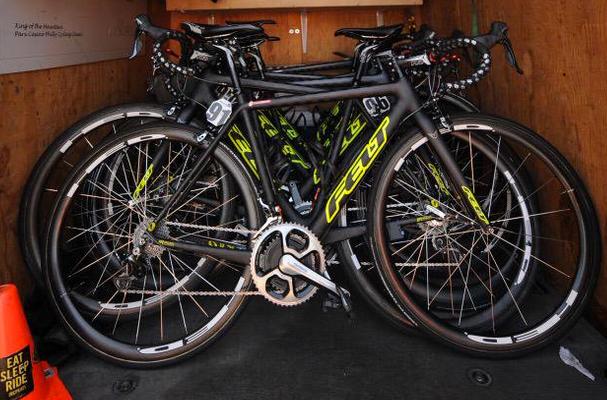 Holowesko - Citadel team Felt bikes