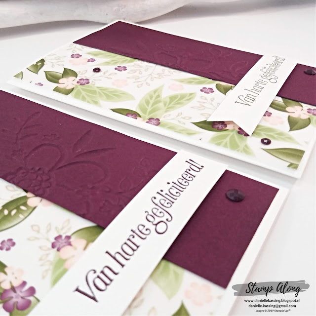 Stampin' Up! Floral Romance DSP