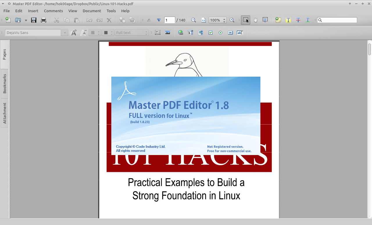 Ubuntu Buzz !: Master PDF Editor: Complete Solution for
