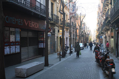 Carrer Verdi in Gràcia district