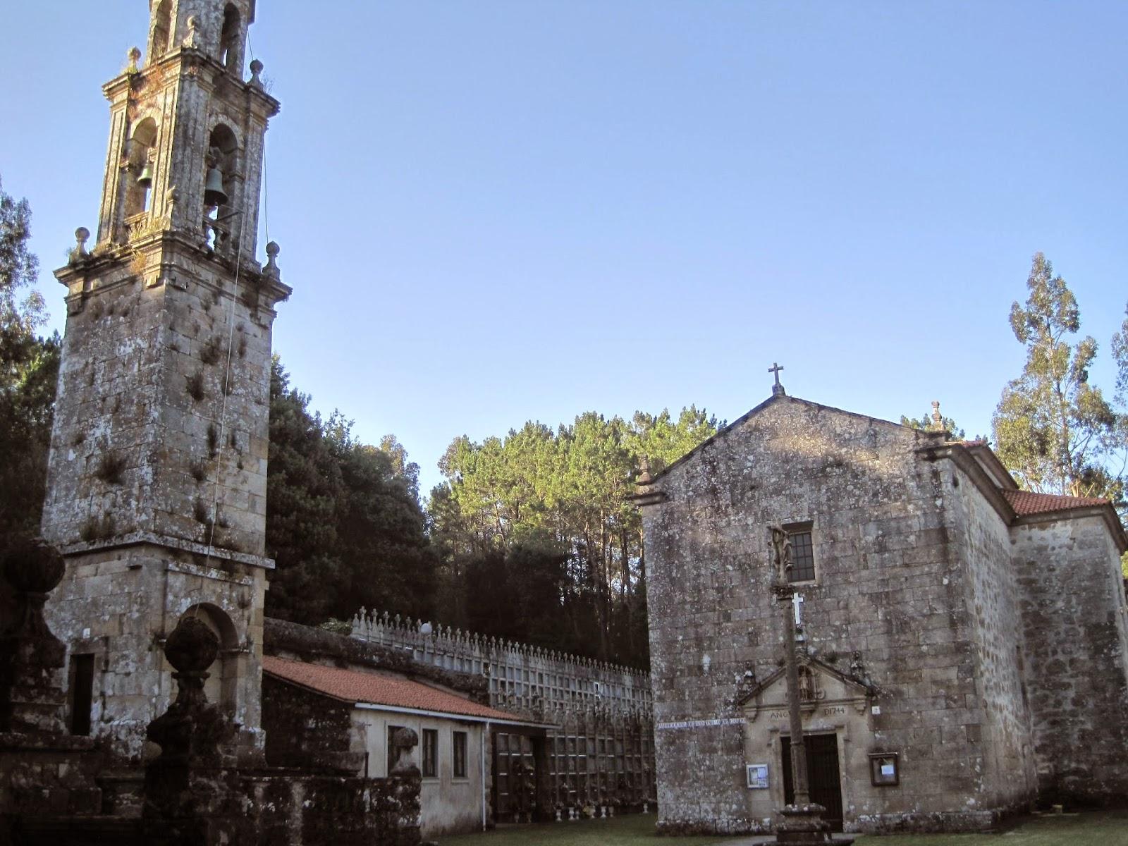 Iglesia de San Tirso de Cando en Outes