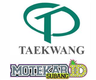 Loker PT. Taekwang ( Product Security Staff ) Januari 2019