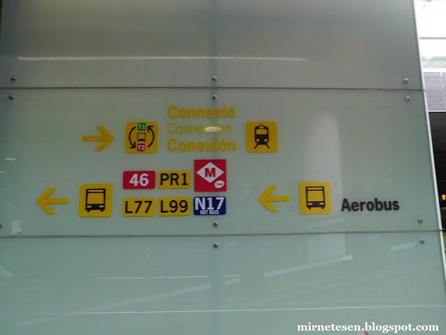 Как доехать из аэропорта Барселоны в город на автобусе