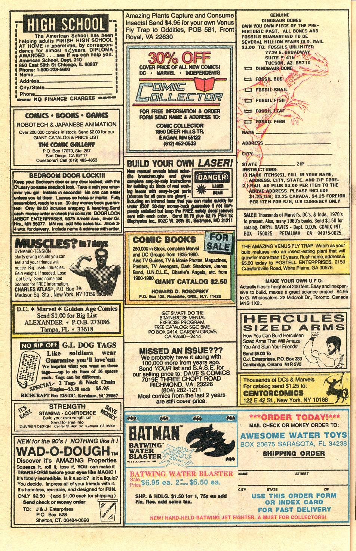 Read online Secret Origins (1986) comic -  Issue #50 - 67