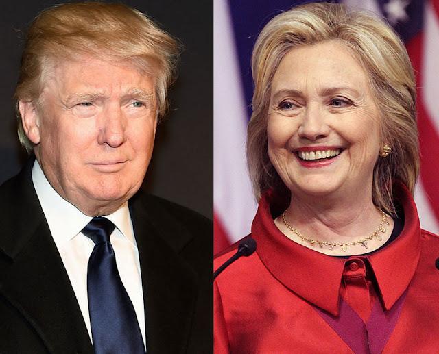 Nuevo sondeo indica que Hillary aventaja a Trump por cuatro puntos