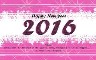 Kartu Ucapan Happy new year 2016 selamat tahun 2016 34