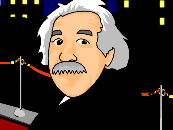 Albert Einstein cartoon video for kids from Brainpop.