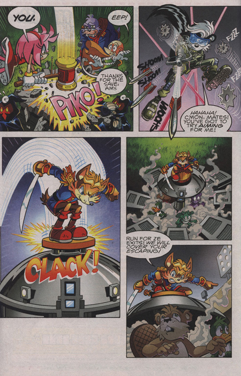 Read online Sonic The Hedgehog comic -  Issue #210 - 19