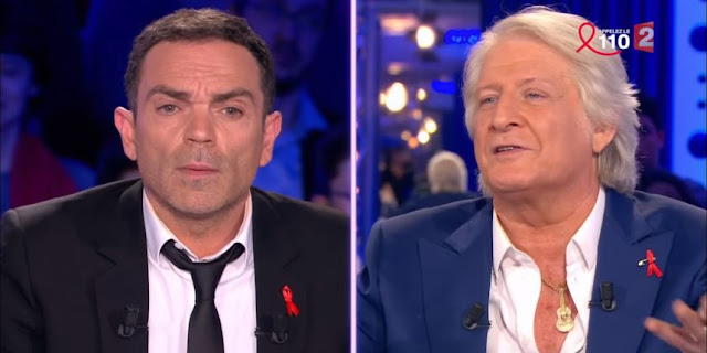Clash entre Patrick Sébastien et Yann Moix dans ONPC