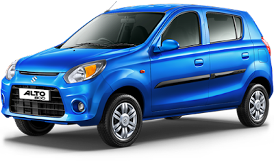 2016 latest Maruti Suzuki Alto800 Facelift blue color