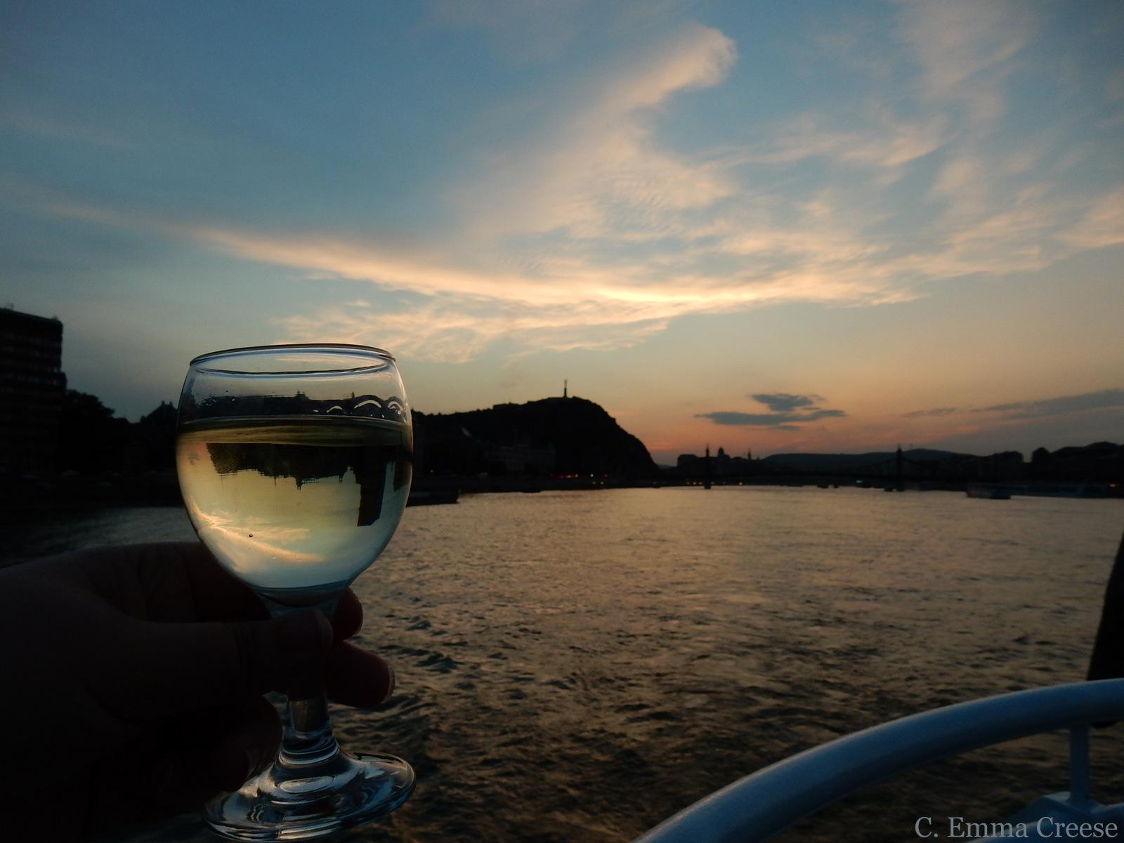 Danube sunset 10 reasons luxury city break Budapest Hungary Adventures of a London Kiwi