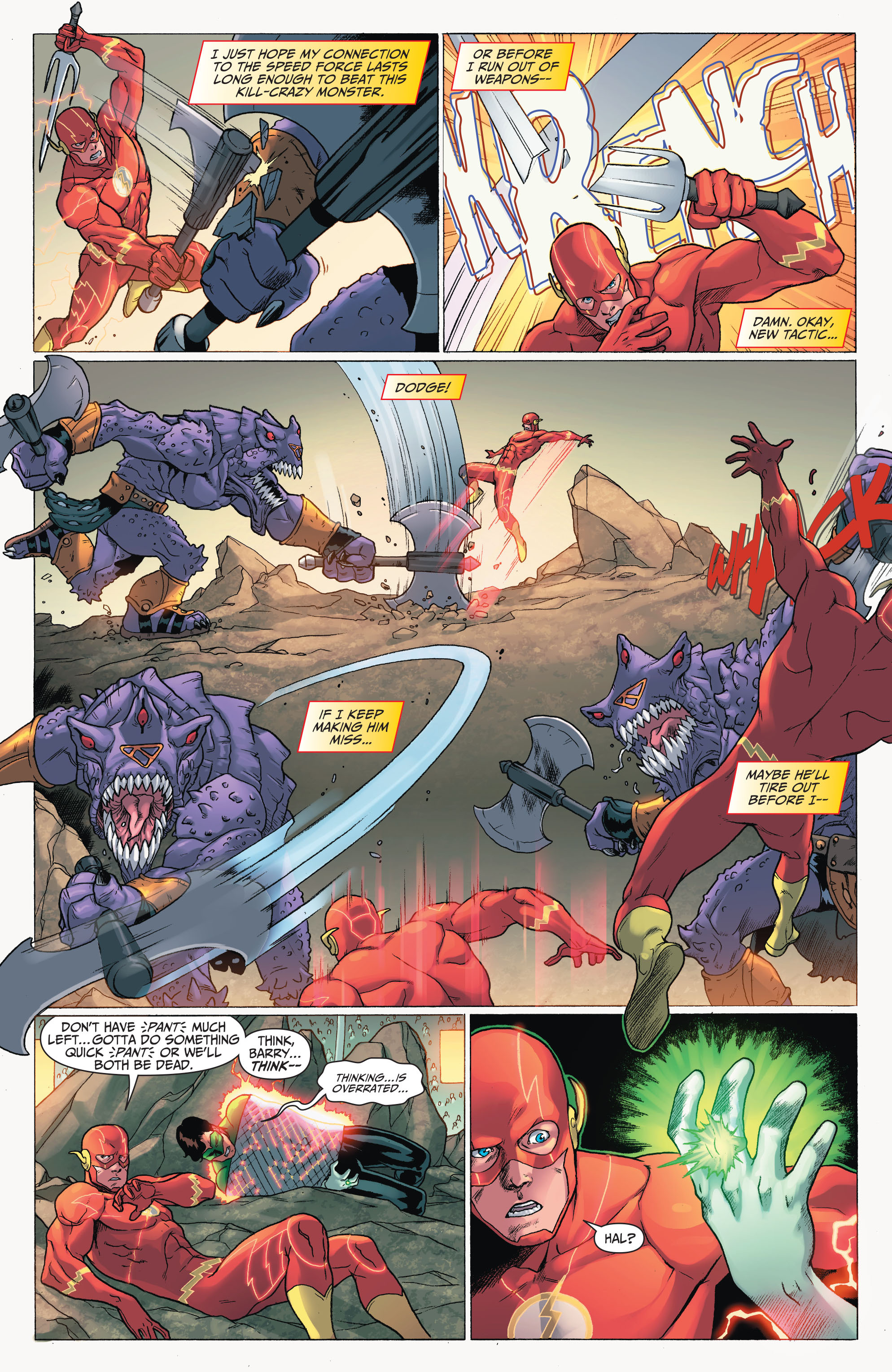 Read online The Flash (2011) comic -  Issue # Annual 2 - 24