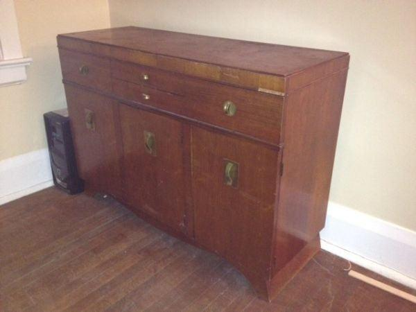 Craigslist sideboard picture