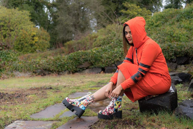 hoodie dress, zaful review, ananya, seattle blogger, desi blogger, NRI, sporty look