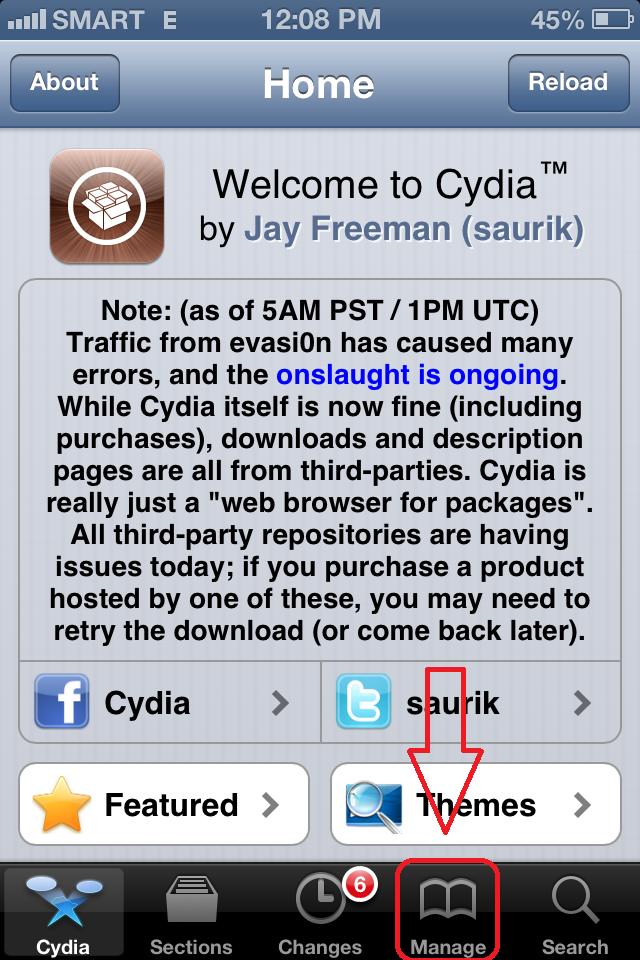 Jailbreak Tweaks Zone: How to download Appcake on iOS 4, 5&6+