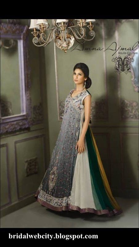 Amna Ajmal New Bridal Formal Use Collection 2014