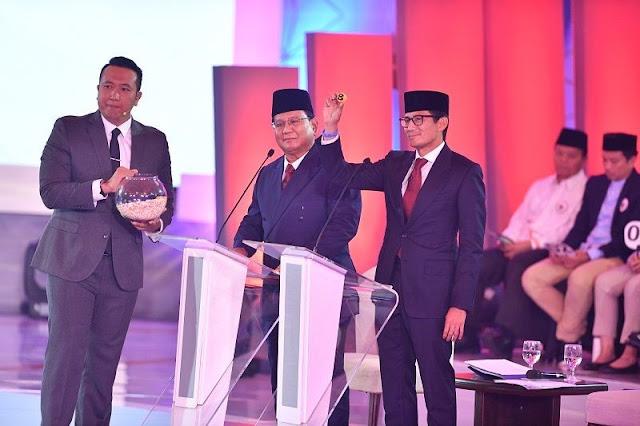 Debat Capres 2019, Jokowi dan Sandiaga Lebih Dominan Hingga Sesi 2