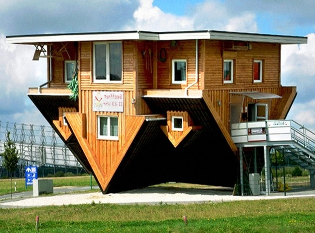 Bentuk Desain Rumah Unik Di Dunia