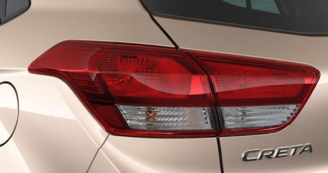 2017 Hyundai Creta Facelift Taillight image