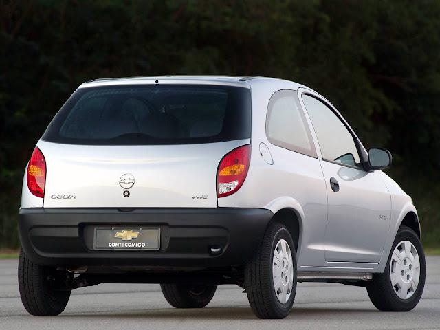 Chevrolet Celta 2001 - consumo
