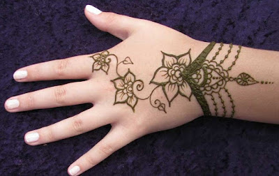 Easy and simple mehndi designs collection 2017 for kids hands
