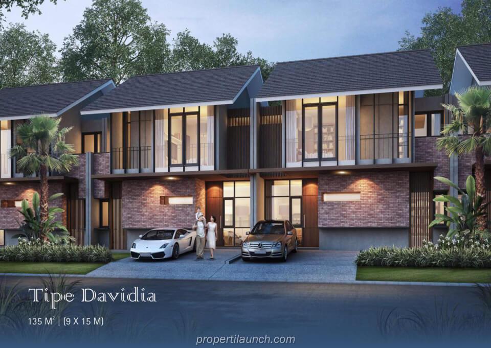 Rumah Tipe Davidia Suvarna Sutera